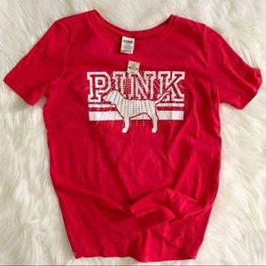 Victoria's Secret PINK tee shirt. NWT medium